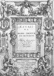 "Frontispice des ""Essais"", 1588"