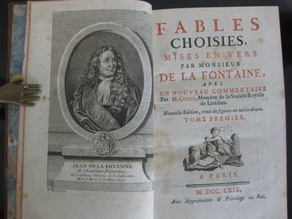 La Fontaine Fables Livre 1 1668 Aimer La Litterature