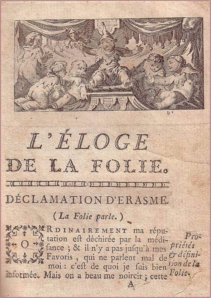 introduction dissertation eloge de la folie erasme